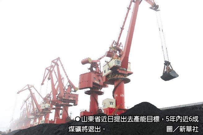 山東省近日提出去產能目標,5年內近6成煤礦將退出。圖/新華社