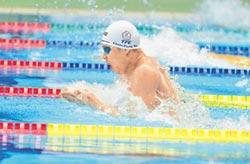 日本游泳公開賽 挑戰全國紀錄 吳浚鋒飲恨