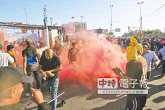 伊拉克示威者 二度闖「綠區」4死