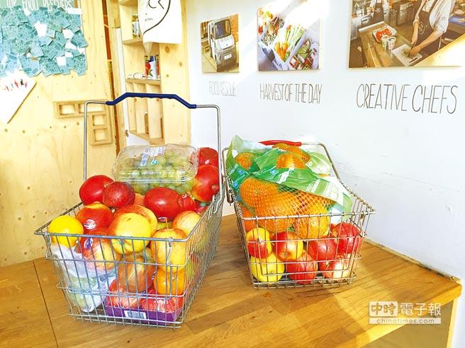 荷蘭Instock小舖裡販售的醜蔬果。(主婦聯盟環境保護基金會主任吳心萍提供)