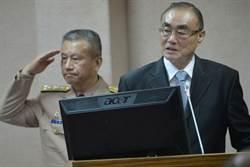 馮世寬:行政院主導第四軍種  國防部支援