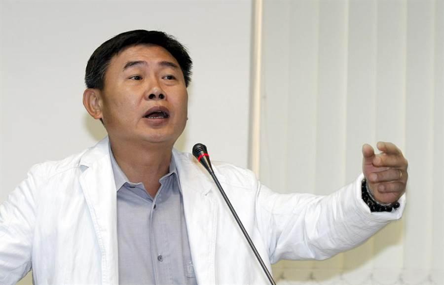民進黨立委初選台南第四選區參選人李俊毅。(本報資料照片)