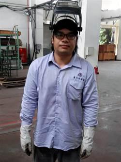 簡志華參加職訓 從門外漢擠進國營企業