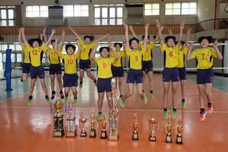 苦練一年 北辰國小女排勇奪全國中華盃冠軍