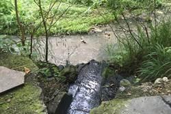 台南出現藍色多瑙河  排污廠遭重罰