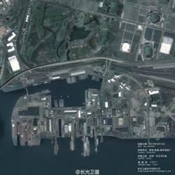 陸商用衛星照  可監控美國航母