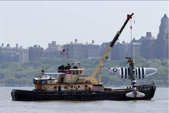 美二戰老爺機墜紐約哈德遜河 駕駛罹難