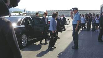 蔡英文:會和國軍負起保家衛國責任