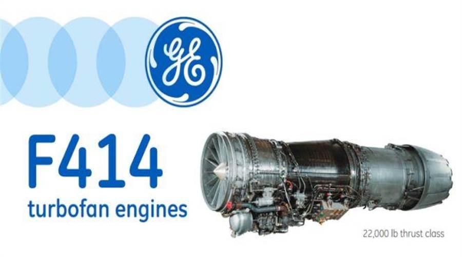 GE的F414發動機應用在美國F/A-18E、瑞典JAS-39E和印度Tejas LCA戰機(圖/GE公司)