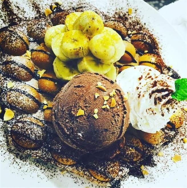 法式香蕉巧克力雞蛋仔