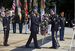 國殤日 歐巴馬向陣亡美軍致敬