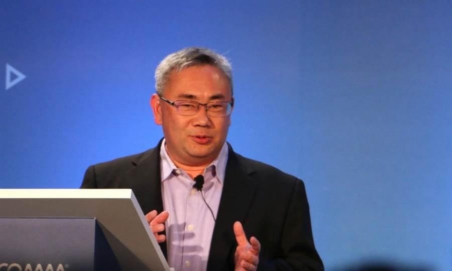 高通技術公司資深銷售總監Terry Yen。(圖/黃慧雯攝)