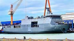 爭奪南海 菲律賓首艘兩棲戰略支援艦服役