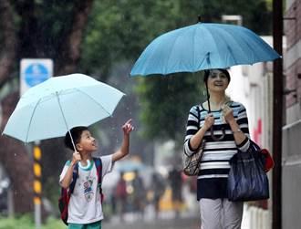 颱風天停止上課 家長可請家庭照顧假