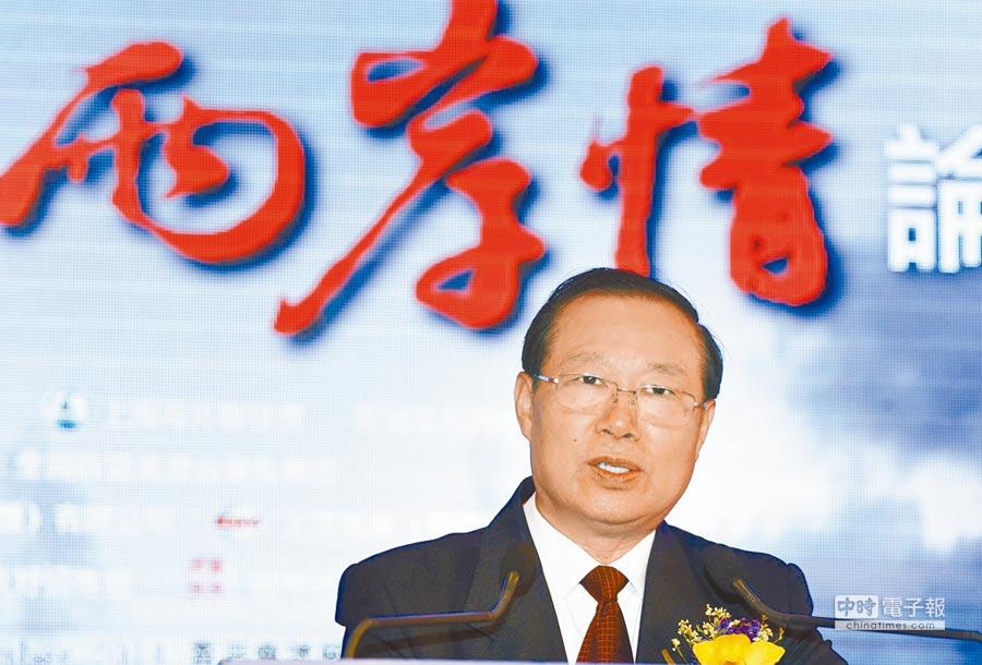 大陆国台办前副主任王在希。(中新社资料照片)