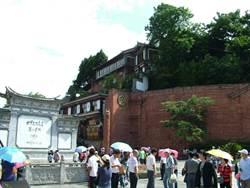 麗江古城商家抗議收費  官方:查煽動者
