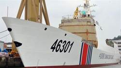 中共疑似啟用054A型海警船