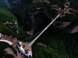 世界最高景觀玻璃橋峻工 網民:不怕高,只怕豆腐渣