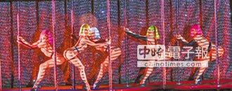 張本渝看《瘋馬秀》發軟 張洛君驚豔機器舞唯一男舞者