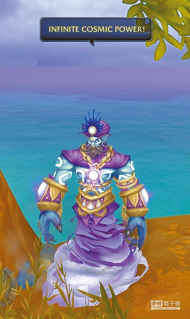 《魔獸世界》裡的「羅賓」是藍色的神燈精靈,紀念本尊在《阿拉丁》配音的經典角色。