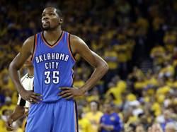 NBA》無視天價合約誘惑 杜蘭特不想簽短約