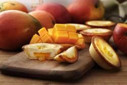 安普蕾修夏季限定芒果起士塔 以3種起士揉合在地完熟愛文芒果