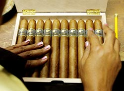 中美-古巴雪茄 供不應求