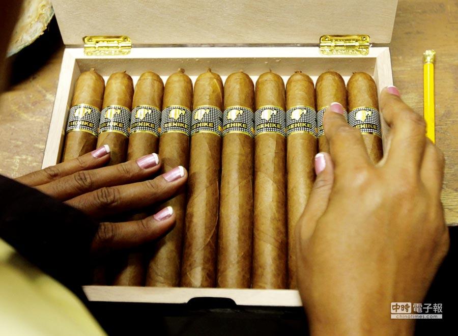 古巴雪茄 供不應求。圖╱路透