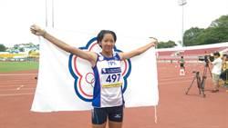 亞青賽 林玉婕女子400跨欄銅牌