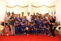 少年足球錦標賽  花蓮小將奪冠