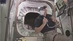 影片直擊 太空人首度進入充氣太空艙BEAM