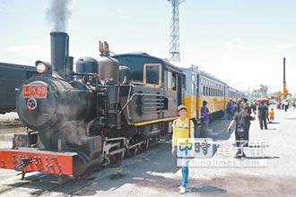 慶祝鐵路節 骨董級火車LDK59 吐氣快跑