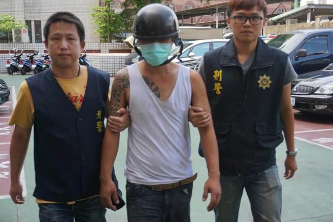 許嫌犯案後7小時遭逮捕。(柯宗緯攝)