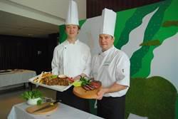 紐西蘭草飼牛新料理 台中亞緻大飯店上桌