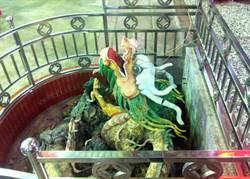 嘉義隆天宮百年古井  端午民眾取午時水