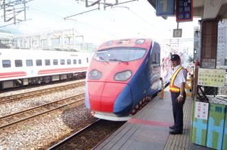 台鐵首班實名制列車沒坐滿 搭乘率84%