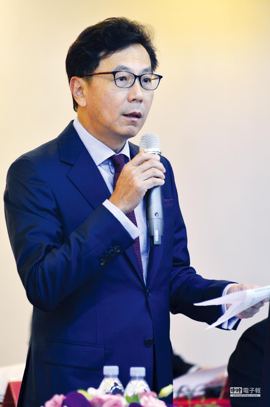 富邦金董事長蔡明忠。