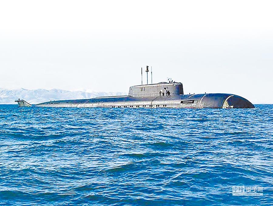 印度「殲敵者」號戰略核潛艦。(取自環球網)