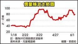 台灣權王-元富證券 波動上升是買點