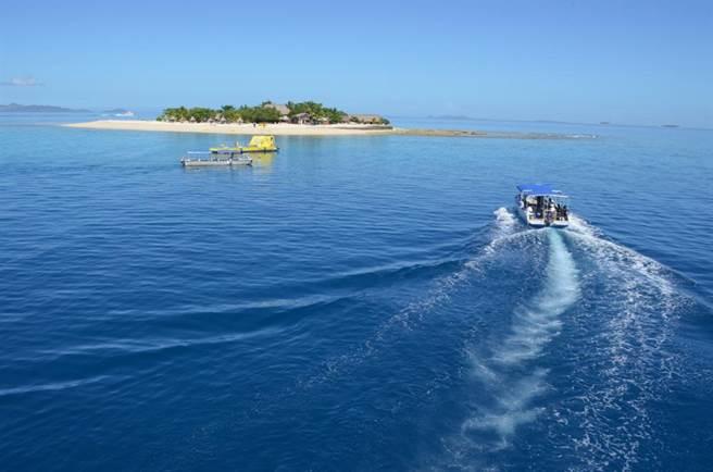 想要找個最隱密的島嶼共享兩人世界嗎?斐濟是最佳首選。(圖/時報旅遊提供)