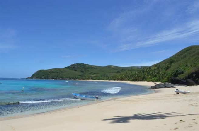 碧海藍天,斐濟假期讓人徹底放鬆。(圖/時報旅遊提供)