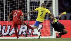 上帝之手再現! 秘魯爭議手球淘汰巴西