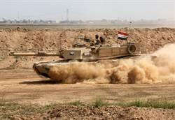 伊斯蘭國的惡夢 伊拉克政府軍的M1A1戰車
