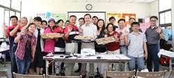 南華團隊駐村學做九重炊,打響大林慢城、慢食名聲