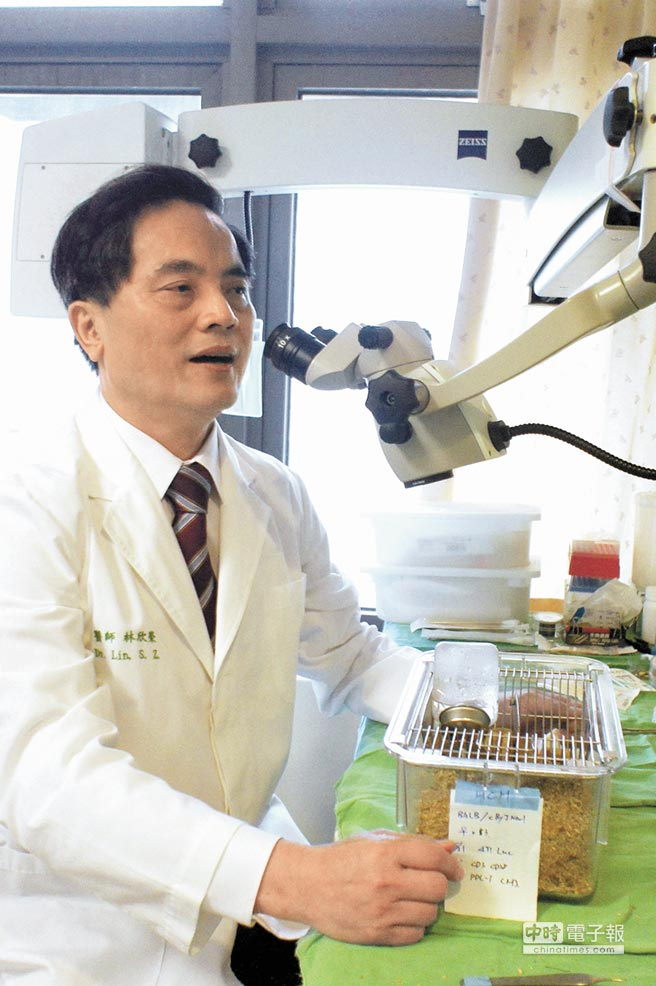 國際幹細胞治療治療權威林欣榮,在慈濟大家長證嚴法師再三邀約下,7月1日將重返花蓮慈濟接掌院長。(馮惠宜攝)
