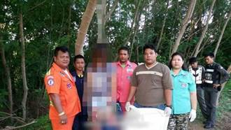 中國女子在泰國上吊 警方先合影才放下遺體