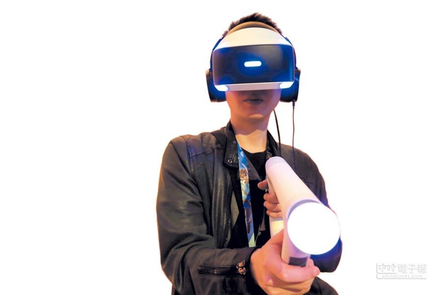 索尼、微軟攻VR! 今國光新鉅科沾光