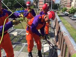 桃園市消防救助隊結訓 強化桃園救災救難能量