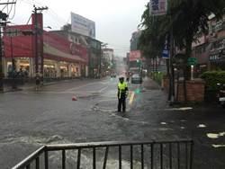 午後大雷雨釀災 多處淹水2死1重傷