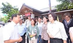 文化部長踏勘歷史建物 提3新政救展館永續